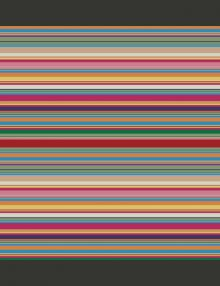 Carta Da Parati A Strisce Colorate.Carta Parati Con Disegni Geometrici Lo Stile Psichedelico