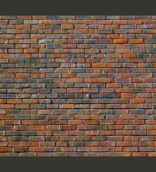 Carta da parati muro di mattoncini fotomurale carta parati for Carta da parati effetto muro mattoni
